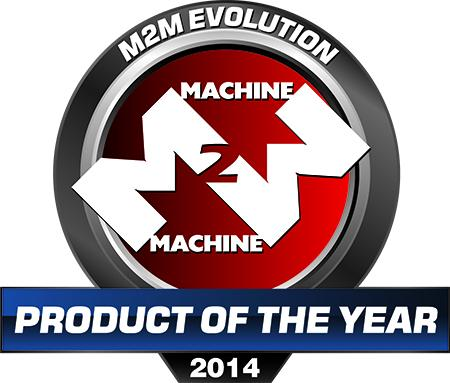m2m product of the year 2014
