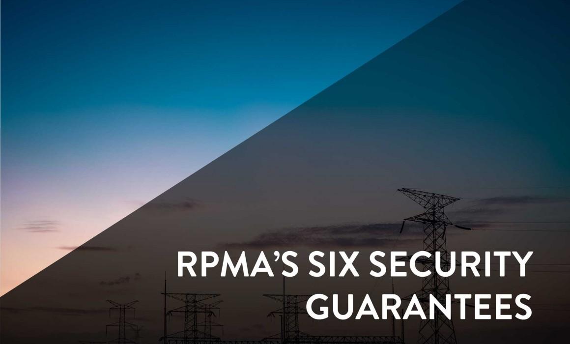 RPMA's Six Security Guarantees
