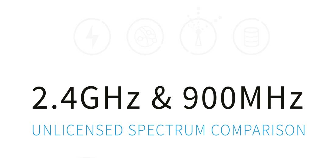 Unlicensed Spectrum Comparison