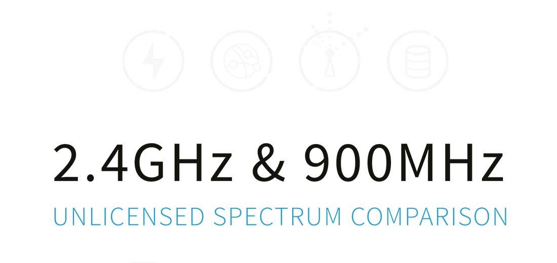 Unlicensed Spectrum Comparison