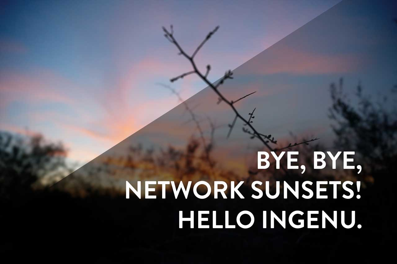 Network sunset