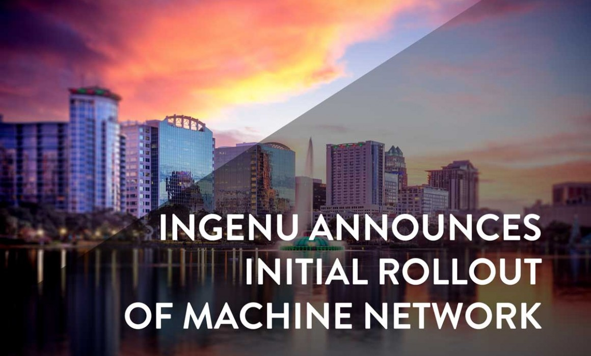 Machine Network Initial Rollout