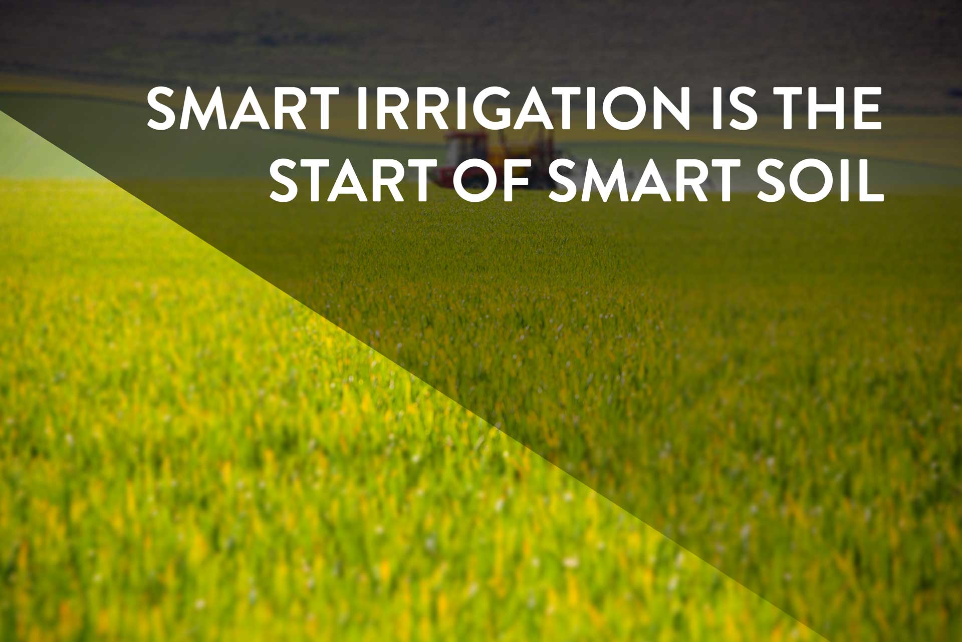 Smart Irrigation Is The Start Of Smart Soil Ingenu
