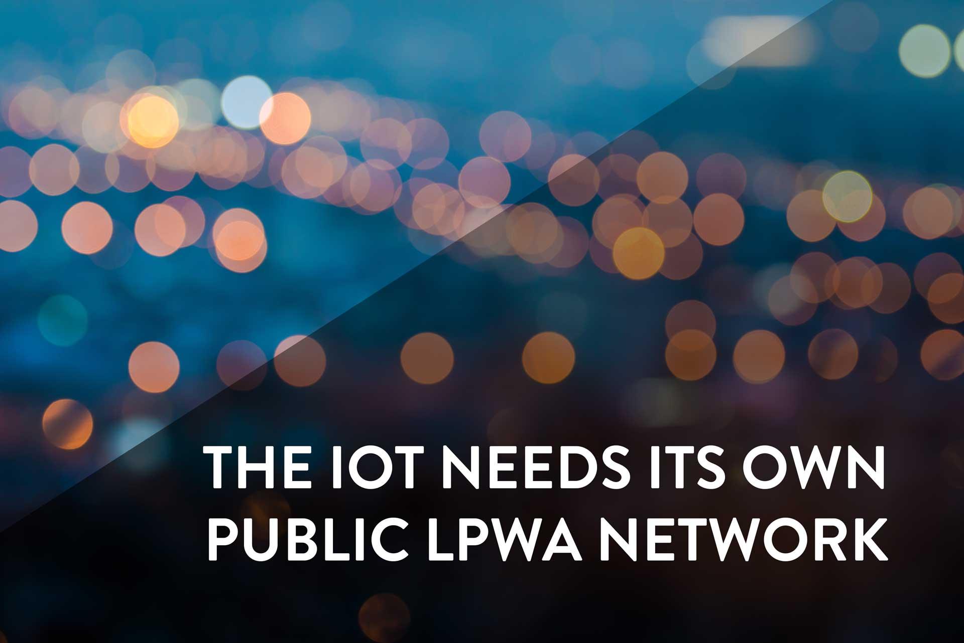Public LPWA Network