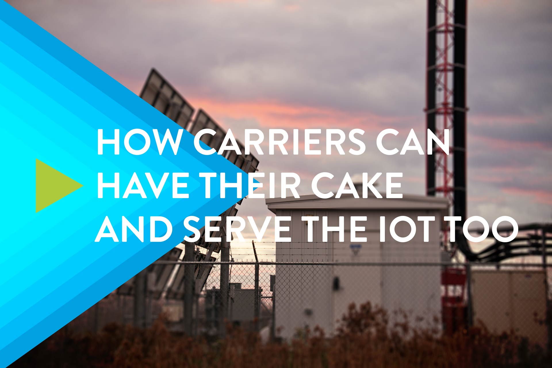 Serve the IoT