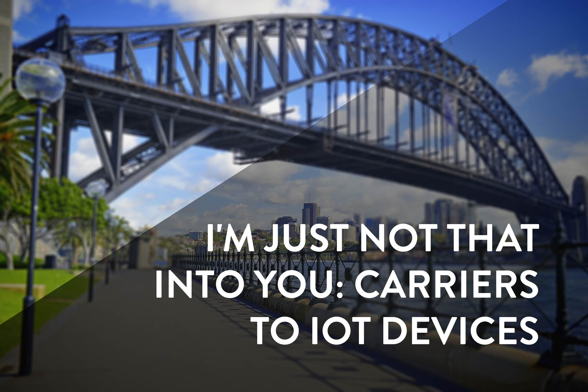carriers to iot devices