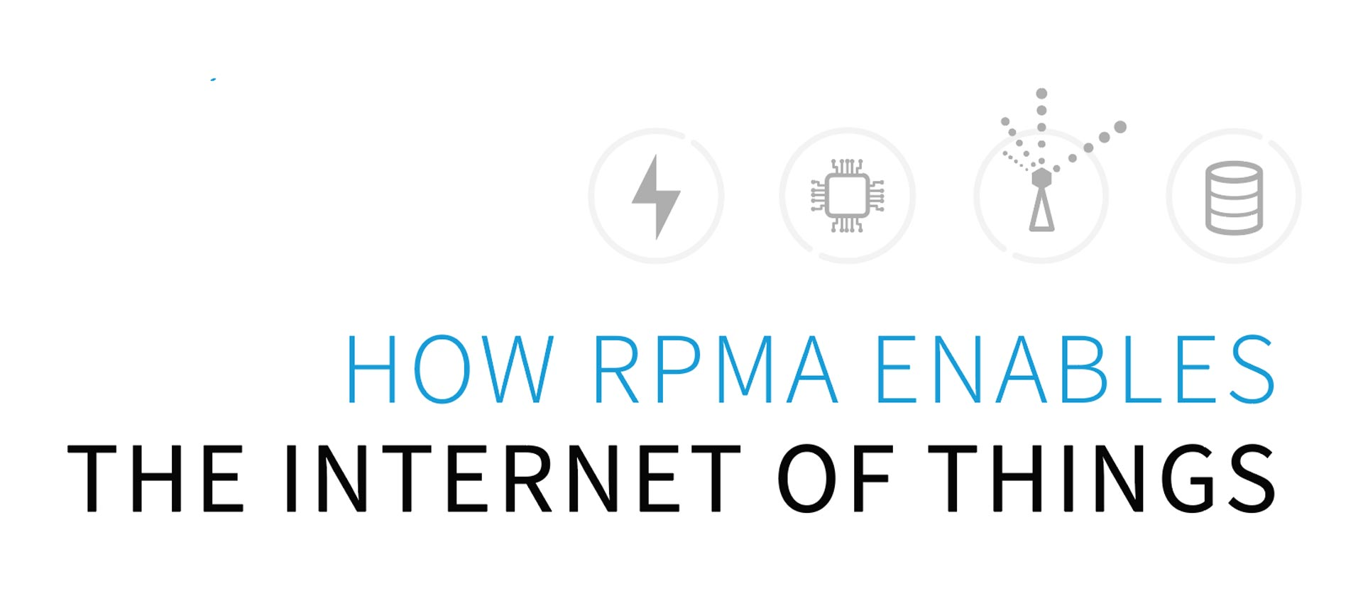 how rpma enables the internet of things