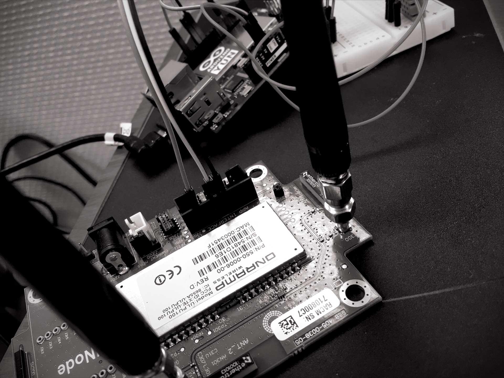 Arduino Yun rACM Board